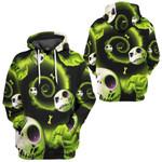 Gearhumans 3D Nightmare Before Christmas Jack Oogie Boogie Custom Tshirt Hoodie Apparel