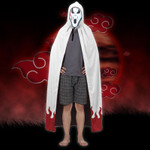 Gearhumans 3D Naruto 7th Hokage Custom Hooded Cloak