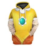 Gearhumans 3D Princess Daisy Custom Tshirt Hoodie Apparel