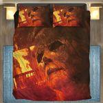 Gearhumans 3D Halloween Kills Michael Myers Custom Bedding Set