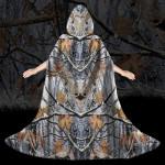 Gearhumans 3D Hunting Camouflage Custom Hooded Cloak