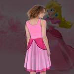 Gearhumans 3D Princess Peach Custom Women Dress