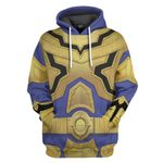 Gearhumans 3D Solaris Knight Laser Power Rangers Mystic Force Custom Tshirt Hoodie Apparel