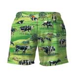 Gearhumans 3D Dairy Cow Hawaii Shirt