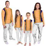 Gearhumans 3D Toad Custom Family Pajama