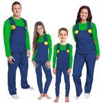 Gearhumans 3D Luigi Custom Family Pajama