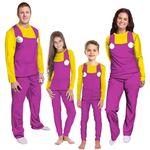 Gearhumans 3D Wario Custom Family Pajamas