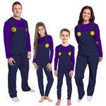 Gearhumans 3D Waluigi Custom Family Pajamas