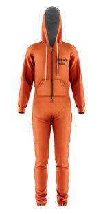 Gearhumans 3D Hannibal Lecter Custom Jumpsuit