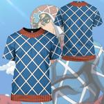 Gearhumans 3D Mista JOJO'S BIZARRE Custom Hoodie Tshirt Apparel