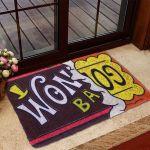 Gearhumans 3D Willy Wonka Chocolate Factory Bar Custom Doormat
