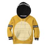 Gearhumans 3D Bowser Custom Kid Hoodie Tshirt Apparel