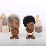 Copy of Artimbers Scandinavian Style Handicraft Wooden Optimist & Pessimist