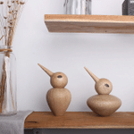 Scandinavian Style Handicraft Wooden Jay