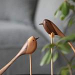 Scandinavian Style Handicraft Wooden Long-tailed bird