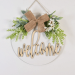Farmhouse Welcome Wooden Sign, Housewarming Gift