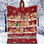 Chow Chow - Christmas Blanket