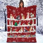 Borzoi - Christmas Blanket