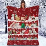 Maltipoo - Christmas Blanket