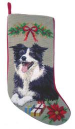 Border Collie Christmas Stockings