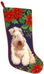 Wheaten Terrier Christmas Stocking