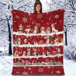 Beagle - Christmas Blanket