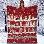 Welsh Corgi - Christmas Blanket