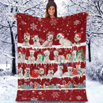 West Highland - Christmas Blanket