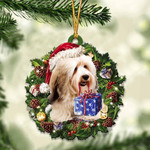 Shin Tzu Christmas Gift Acrylic Ornament