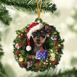 Miniature Pinscher Christmas Gift Acrylic Ornament