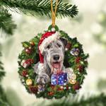 Irish Wolfhound Christmas Gift Irish Acrylic Ornament