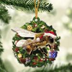 Bee Christmas Gift Acrylic Ornament