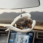 Cocker spaniel sleeping angel cocker spaniel lovers dog lover ornament cus