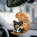 Chihuahua Forever Love Ornament-2D Effect