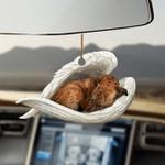 Whippet sleeping angel whippet lovers dog moms ornament