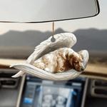 English Setter Sleeping Angel - Hanging Ornament