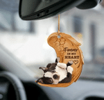 Boston Terrier Forever In My Heart Hanging Ornament-2D Effect