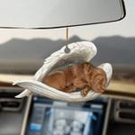 Chesapeake Bay Retriever Sleeping Angel Dog Moms Ornament
