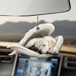 Labrador retriever sleeping angel labrador retriever lovers  dog moms ornament