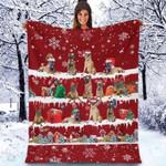 Belgian Malinois - Christmas Blanket