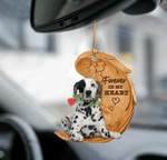 Dalmatian Forever In My Heart Hanging Ornament-2D Effect