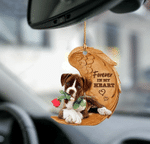 Boxer Puppy Forever In My Heart Hanging Ornament-2D Effect