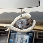 GSP sleeping angel GSP lovers dog moms ornament