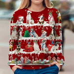 American Bulldog - Snow Christmas - Premium Sweatshirt
