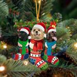 American Cocker Spaniel Christmas Socks Ornament