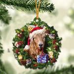 Goat Christmas Gift Acrylic Ornament