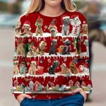 Poodle - Snow Christmas - Premium Sweatshirt