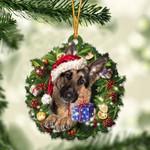 German Shepherd Christmas Gift Acrylic Ornament