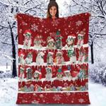 Shih Tzu - Christmas Blanket