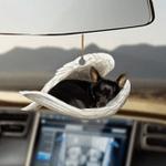 Black chihuahua sleeping angel black chihuahua lover dog mom ornament cus tjl